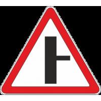 2.3.2 Примыкание второстепенной дороги с право
