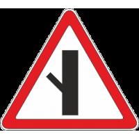 2.3.5 Примыкание второстепенной дороги с лево верх 45 гр