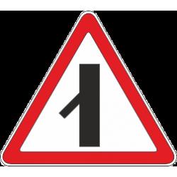 2.3.7 Примыкание второстепенной дороги с лево низ 45 гр