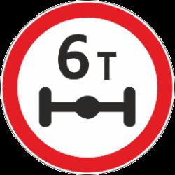 3.12 Ограничение массы на ось транспорта