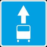 5.14 Полоса для общественного транспорта